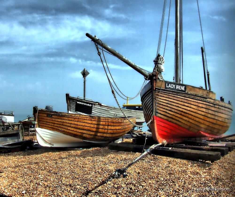 Fishing boats by Steve Parkinson