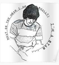 Ringo Starr - Graphic Portrait (with lyrics!) Poster