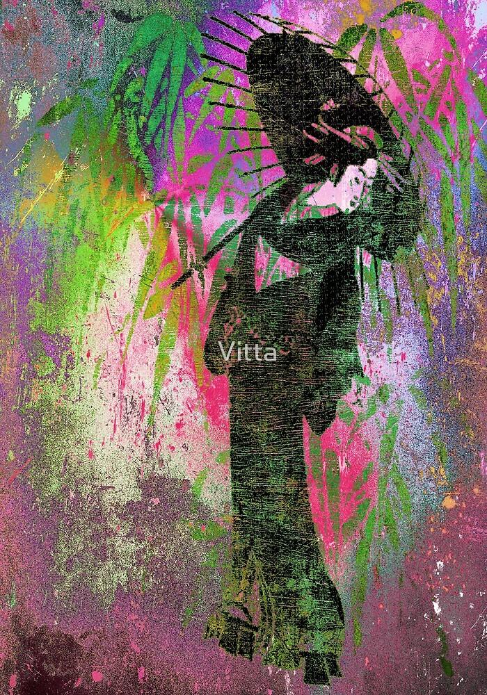 Painting Japanese women.Japanese series10. by Vitta