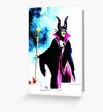 Malificent...Evil Queen Greeting Card