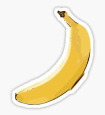 Yellow Banana Sticker