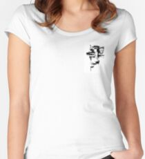 Ruptura temporal 1 Women's Fitted Scoop T-Shirt