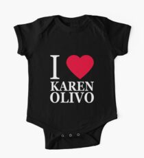 I love Karen Olivo 2 One Piece - Short Sleeve
