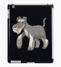 Schnauzer-funny design for adults and kids  iPad Case/Skin