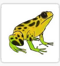 Dart Frog Sticker