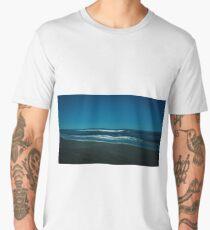 Atlantic Ocean at Night Men's Premium T-Shirt