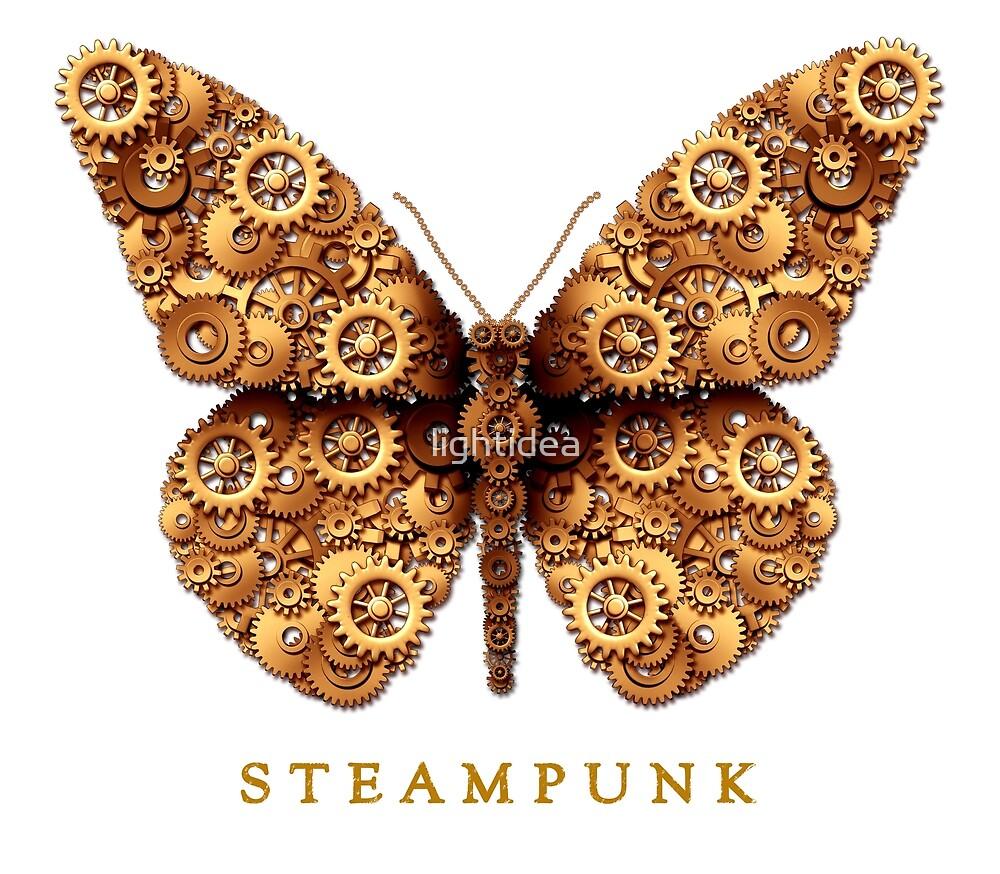 Steampunk Steam Punk Butterfly by lightidea