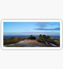 Wintery Morning, Clent Hills Sticker