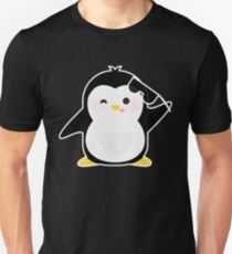 Sunglasses Penguin T-Shirt Funny Going to the Beach Humor Novelty Gift Tee T-Shirt