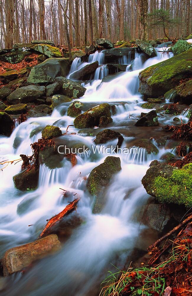 MOUNTAIN CASCADE by Chuck Wickham