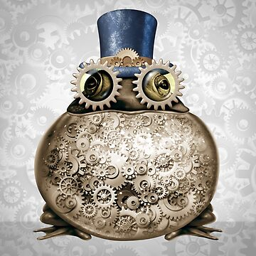 Steam Punk Frog by lightidea