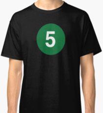 5 Train New York Raised Me / New York Classic T-Shirt
