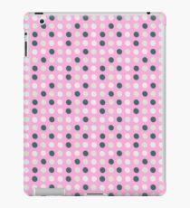 teal white eggs on pink iPad Case/Skin