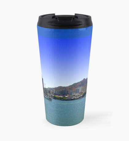 Townsville on the water Travel Mug