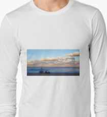 Winter Beach Day Long Sleeve T-Shirt