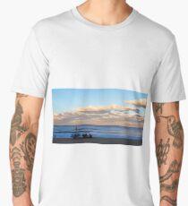Winter Beach Day Men's Premium T-Shirt