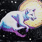 Space Fox by Maranda Cromwell