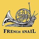 French Snail, French Horn + Snail Hybrid Animal by Jessie Fox - Whatif Creations