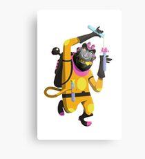 Dr. Aperaham, Mad Chemist Metal Print