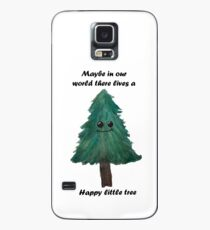 Funda/vinilo para Samsung Galaxy Happy Little tree- Bob ross