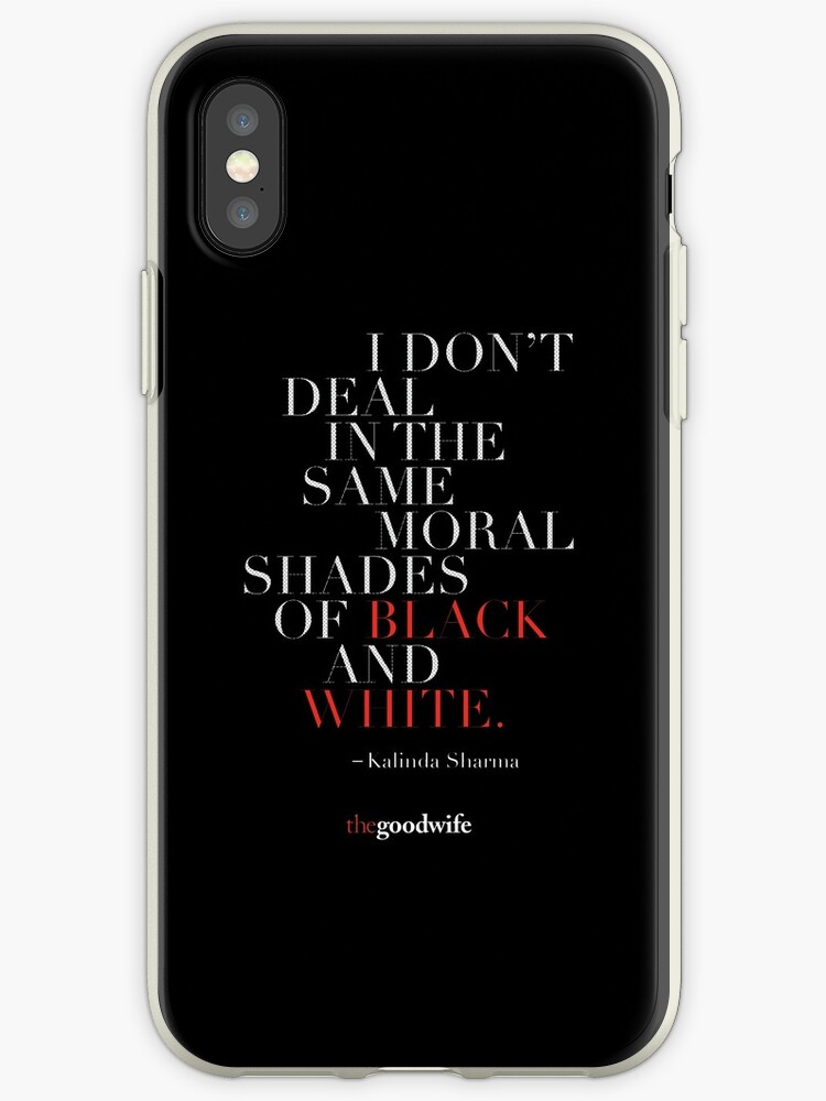 'Kalinda Sharma Quote' iPhone Case by firamos
