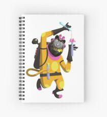 Dr. Aperaham, Mad Chemist Spiral Notebook