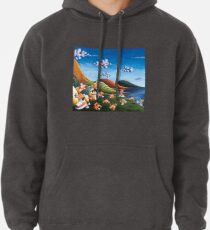 Tale of Carrots (cut) - Kids Art from Shee - Surreal Worlds Pullover Hoodie