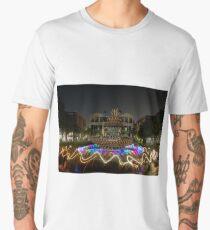 Light Dancing Around the Pineapple Men's Premium T-Shirt