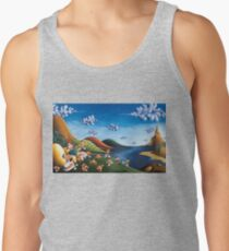 Tale of Carrots - Original Art from Shee - Surreal Worlds Tank Top