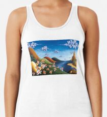 Tale of Carrots - Original Art from Shee - Surreal Worlds Women's Tank Top
