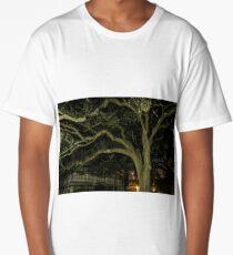 Spooky Tree Reaching Out Long T-Shirt