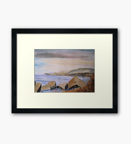 Kimmeridge Bay, Dorset, UK Framed Print