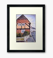 Wickham, Hampshire, UK Framed Print