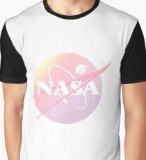 Pastel nasa Graphic T-Shirt