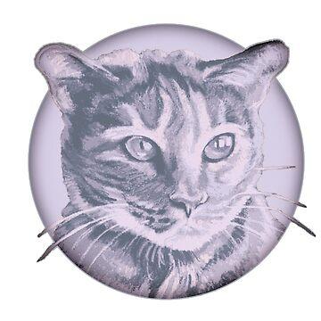 Kitty Cat Bubble by Janeoooo