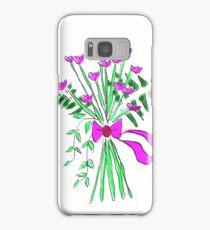 Carnations bouquet Samsung Galaxy Case/Skin
