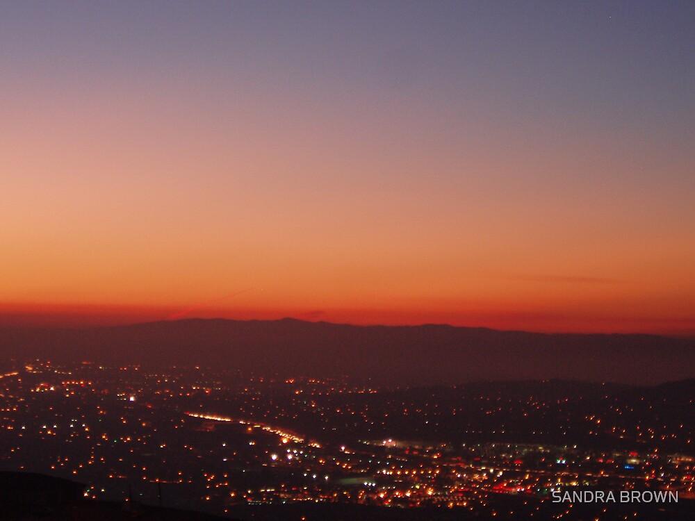 SUNSET OVER CORONA by SANDRA BROWN