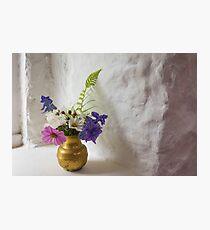Cottage Garden Posy Photographic Print
