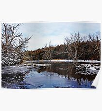 Late Autumn On The River Poster