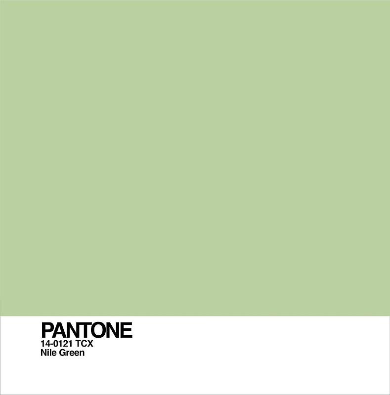ผลการค้นหารูปภาพสำหรับ Nile Green : PANTONE 14-0121