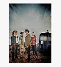 Doctor Who - Season 6 Cast Photographic Print