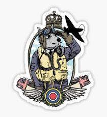 The Dogs of War: RAF fighter Pilot Sticker