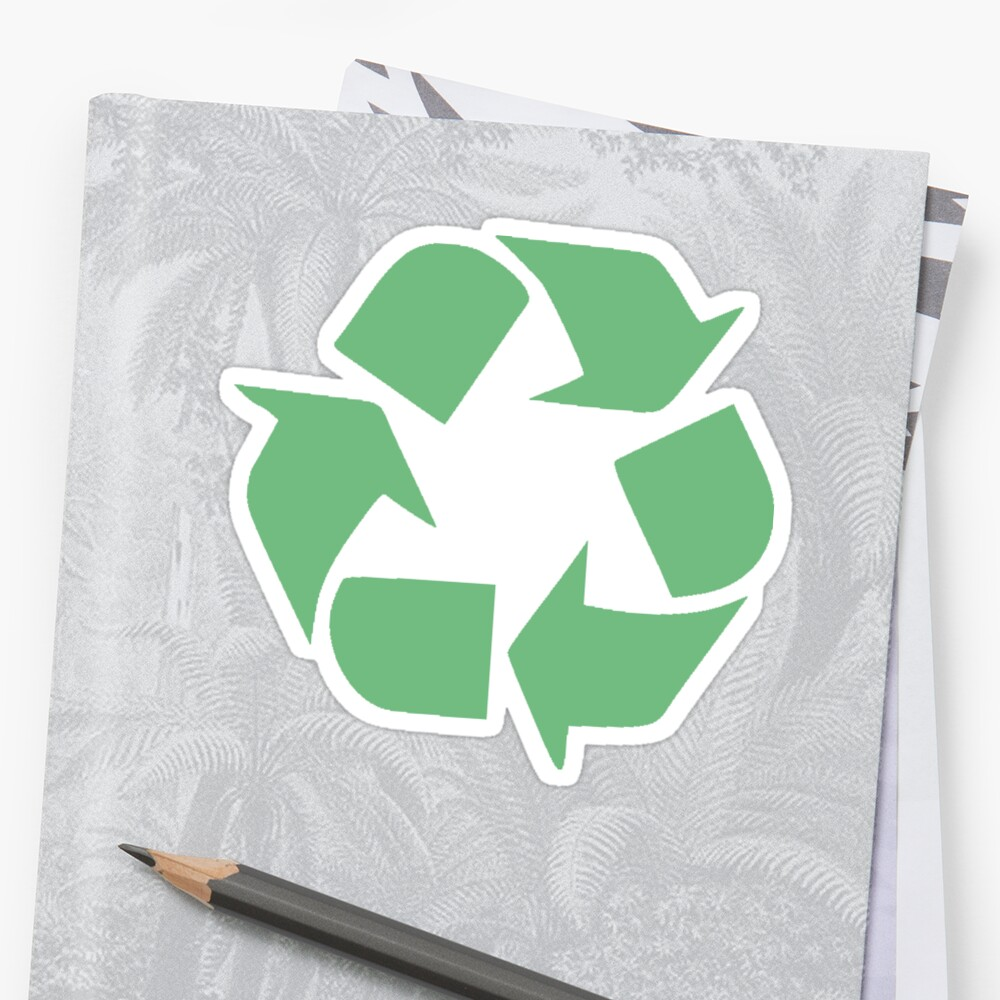 Recycle symbol distressed earth day environment gift stickers by recycle symbol distressed earth day environment gift by stevesemojis buycottarizona