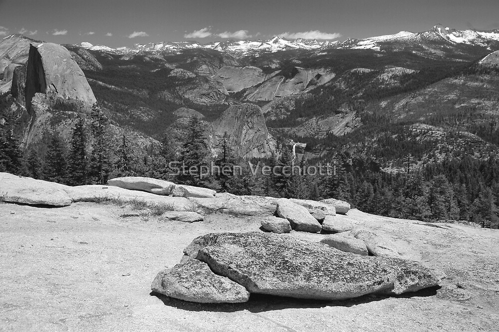 Sentinel Dome Afternoon by Stephen Vecchiotti