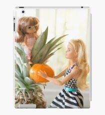 Barbie doll and baby doll iPad Case/Skin