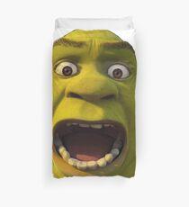 Surprised Shrek Duvet Cover