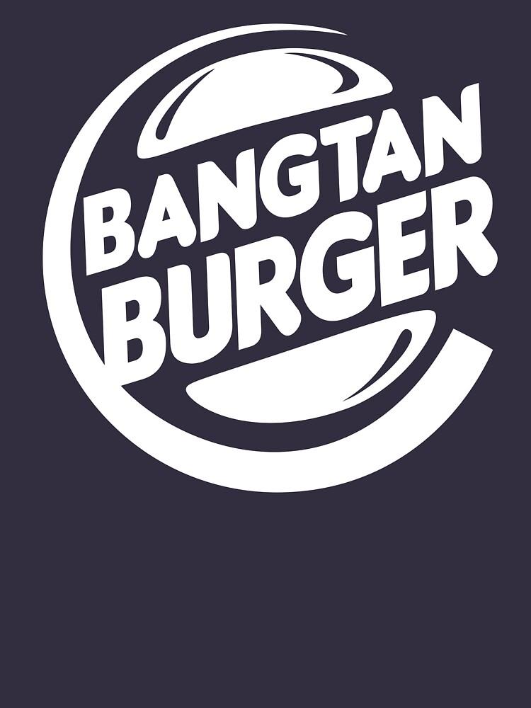 BTS Bangtan Burger - dark background by shopnojams