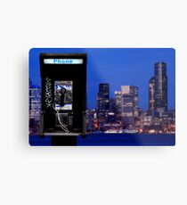 The Wire Metal Print