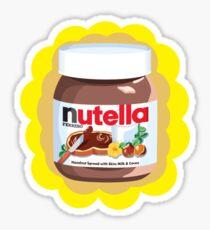 Chocolatey Nutella Sticker