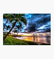 Maluaka Calm at Prince Beach, Maui Photographic Print